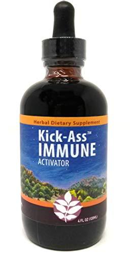 Wish Garden Herbs Kick Ass Immune, 4 Ounce Dropper Top