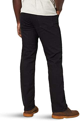 Wrangler Authentics Men's Classic Relaxed Fit Flex Jean    Wrangler Authentics Men's Classic Relaxed Fit Jean. This jean is constructed with durable materials built for long-lasting comfort. Made with a relaxed fit, this jean sits at the natural waist and features a regular seat and thigh.