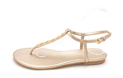 Womens Casual Sandals Toe Haan Soft Cole Gold 14A4125 Slingback Open 6qgSWRnw