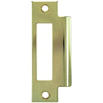 Stainless Steel Hickory #1038 ASA Commercial Grade 1 Door Latch Strike Plate