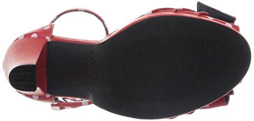 Vintage Red u k Court T Women's Shoes UxvSnwqP