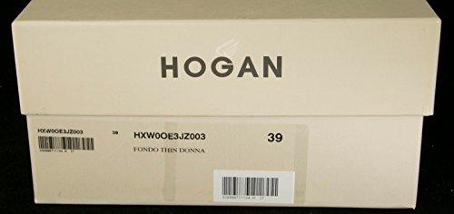 Hogan Ved Tods Fondo Tynn Donna Kastanje Slip-on Joggesko Sko Beige / Kastanje