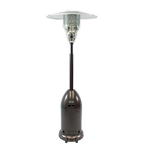 Dyna-Glo DGPH201BR 48000 BTU Premium Hammered Bronze Patio Heater (Patio Firesense Outdoor Heater)