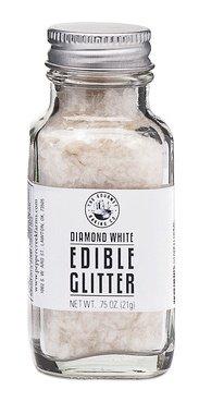 (Pepper Creek Farms Edible Glitter, White Diamond, 0.75 Ounce)