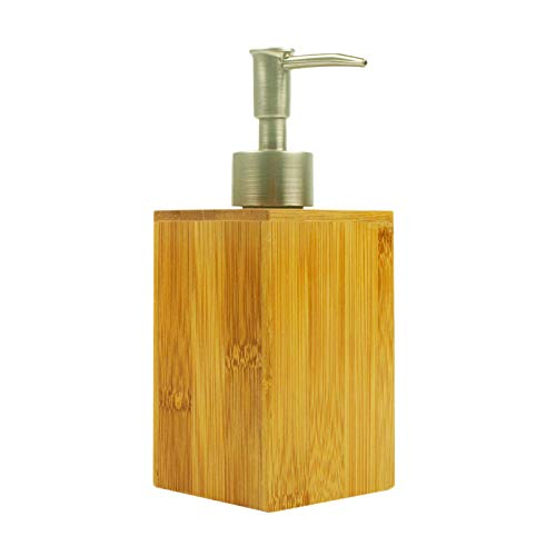 TOOGOO Bamboo Soap Dispenser Lotion Sanitizer Storage for sale  Delivered anywhere in Canada