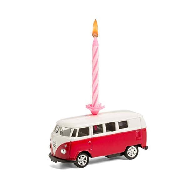 31kJeh8%2BfmL corpus delicti :: Kerze auf Rädern – kompatibel mit VW Bus T1 Bulli – 4er Set gemischt (blau, orange, gelb, rot) (20…