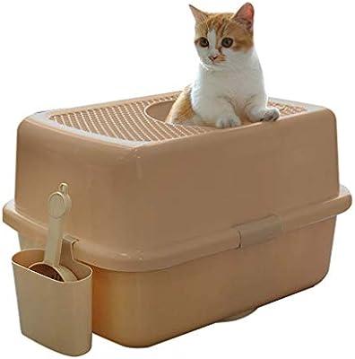 Cat Litter Boxes Furniture, Pet toilet Jack-in Litter Box Large