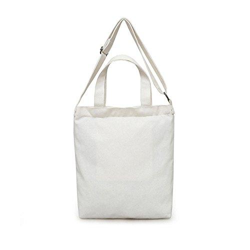 Bianco gran Lona Capacità Tracolla Spalla Dell'ambiente Protezione Meaeo 6qx7aw0U