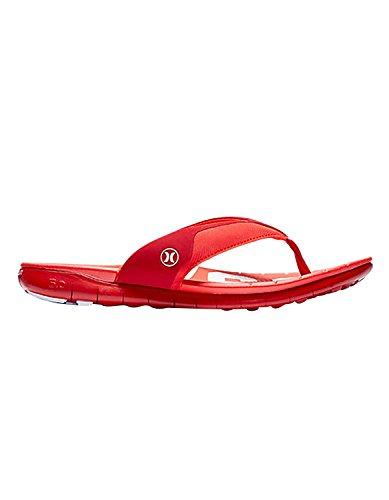 (Hurley MSA0000280 Mens Phantom Free (USA) Sandal, Gym Red - 15)