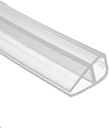 HNNHOME/® Tira de sellado de goma para mamparas de ducha 10 mm, 1400