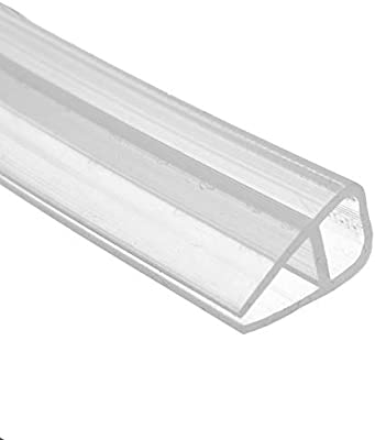 dDanke - Tira de Sellado Transparente para mampara de Ducha (2 m de Longitud, para Cristal de 6 a 12 mm), 6 mm: Amazon.es: Hogar