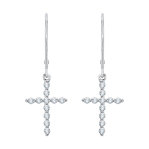 - KATARINA Lever Back Round Cut Diamond