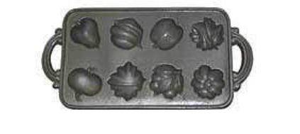 John Wright 73-304 Harvest Muffin Pan