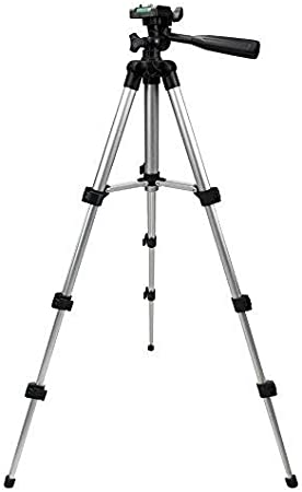 حامل كاميرا DSLR رقمية 50 انش متنقل ثلاثي القوائم لكاميرا كانون EOS 1000D 1100D ريبيل XS T3