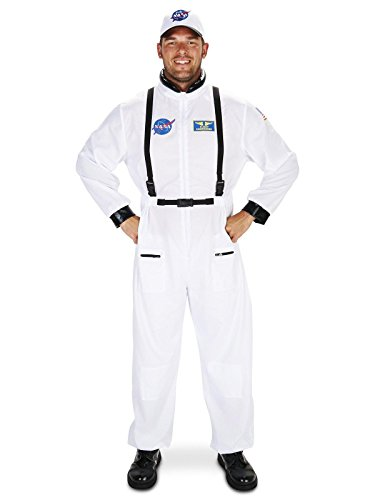 White Astronaut Adult Costumes (White Astronaut Adult Costume)