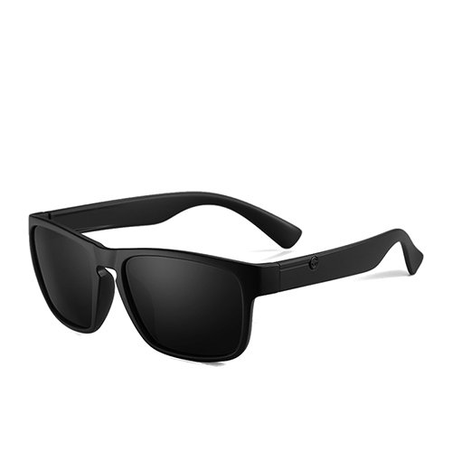 TL Lunettes Sunglasses Voyage Square Matte de Lunettes Guide Lunettes Polarisé optiques Fashion Smoke Black C2 Homme 1FwqTa1rg