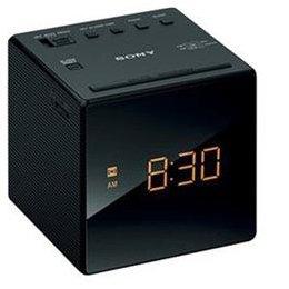 【まとめ 4セット】 ソニー FM/AMクロックラジオ(ブラック) ICF-C1-B B07KNSKMJG