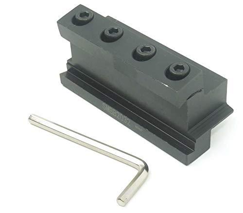 BoTaiDaHong SMBB 2032 Lathe Cutting Tool Cut Off Blade Holder Base Block Stand Holder for Lathe Machine ()