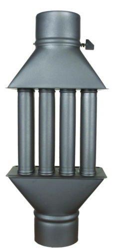 Chimenea estufa para madera, válvula de radiador Heatexchanger con 4 tubos: Amazon.es: Hogar