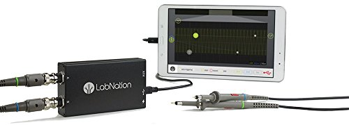 LabNation SMARTSCOPE dual-channel oscilloscope, 8 Ch Logic Analyzer & Generator ()