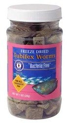 San Francisco Bay Brand Tubifex Worms - 28 (Food Tubifex Worms)