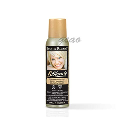 B blonde temporary highlights ,Natural Blonde,3.5 oz (Highlight Bblonde Russell Jerome)