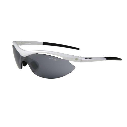 Tifosi Slip T-I060 Pearl White Sunglasses, Frame/Grey - Sunglasses T