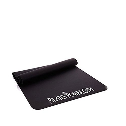 "Pilates Power Gym Deluxe Equipment Floor Mat: Exercise Equipment Floor Protection for All Your In Home Fitness Equipment (Large Coverage Area 60""L x 24""W)"