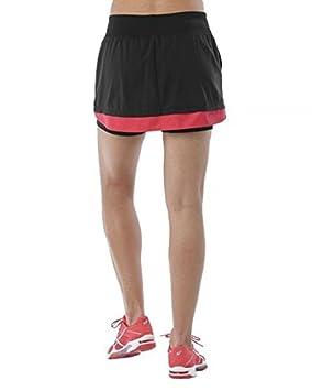 ASICS Falda Padel Negro 141177 0904: Amazon.es: Deportes y ...