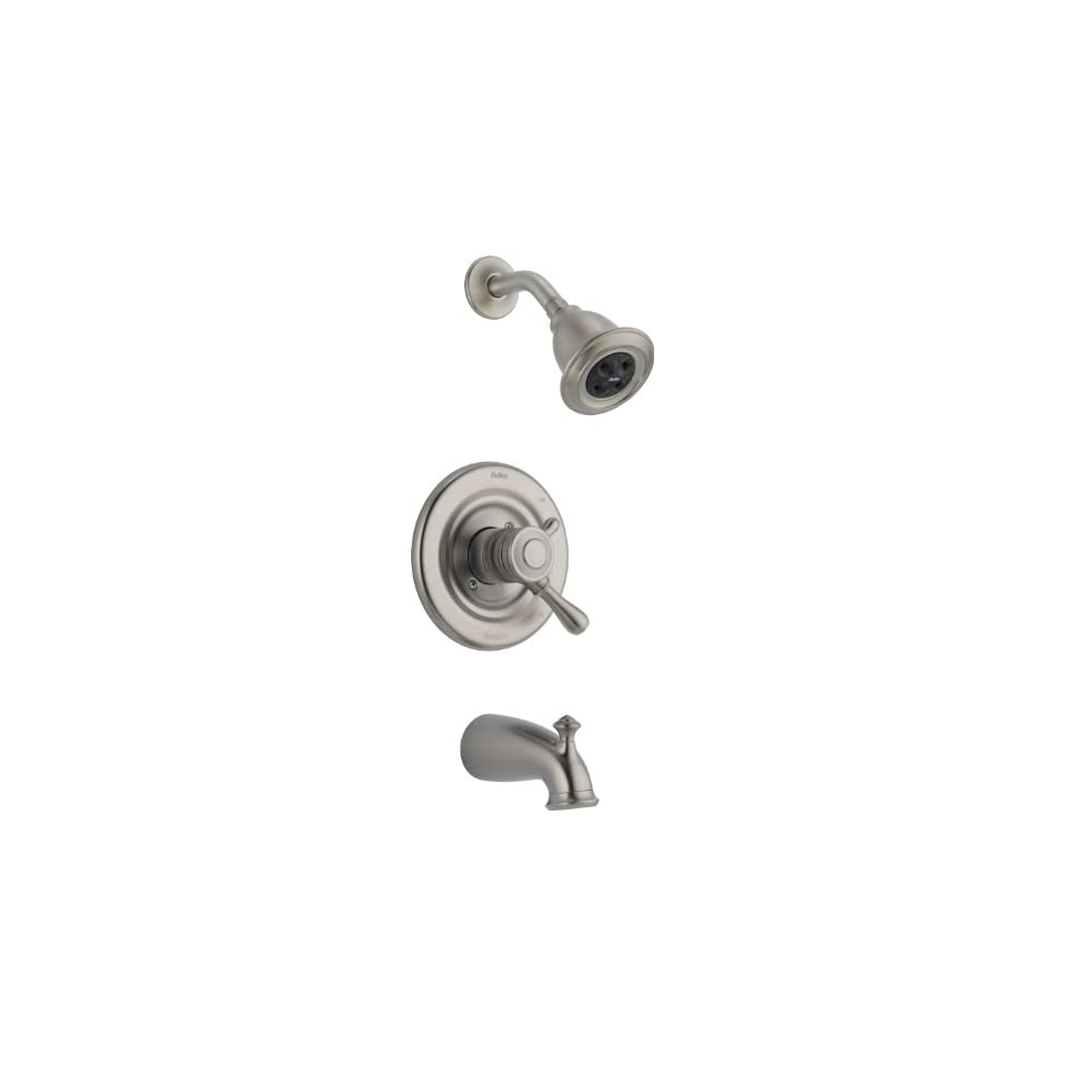 Delta T17478 SSH2O Leland Monitor 17 Series Tub and Shower Trim, Stainless