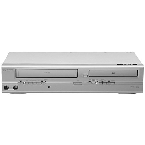 Emerson EWD2004 DVD+VCR Combo Player with TV Tuner [Electronics] (Vhs Tapes Sell)