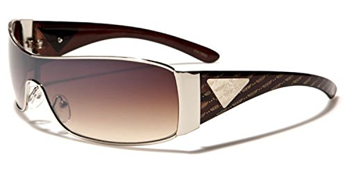 Homme unique Lens Taille Oxigen Silver Multicoloured Brown de Gradient Brown Lunettes soleil 1tZg6