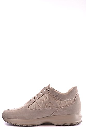 Hogan Mcbi148238o Sneakers In Camoscio Grigio