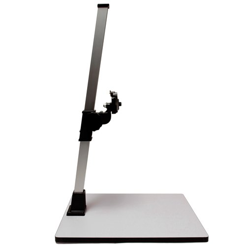 Albinar High Load 28'' Copy Macro Stand with 15.75''x19'' Base, Quick Release Mount by Albinar