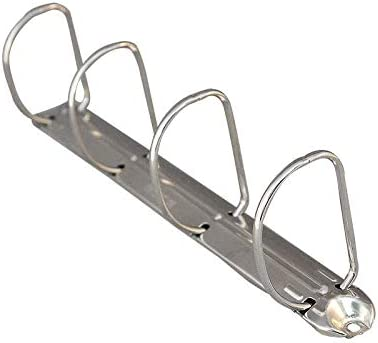 Mecanismo de carpeta de anillas, 4 anillas en D 40mm Diameter - Pack of 125: Amazon.es: Oficina y papelería