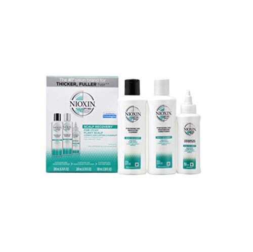 scalp recovery 3 Piece Kit (Cleanser Shampoo, Conditioner, Serum)