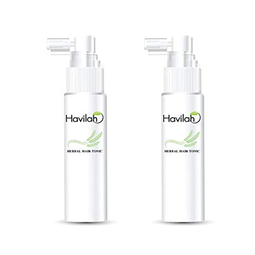 2 Boxes of Havilah Arroze Herbal Hair Tonic 50ml. Innovation Rice Extract with Nano Capsule Anti Hair Loss Fresh Herbal Original REHAIR Regrowth Stimulate Hair [Get Free Beauty Gift for You]