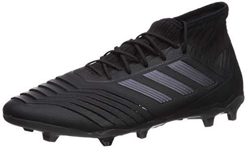 adidas Men's Predator 19.2 Firm Ground Soccer Shoe, Utility Black, 13 M US