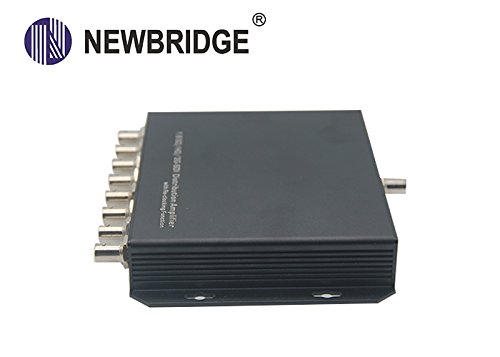 NEWBRIDGE ND3108G 1:8 channel SD//HD//3G-SDI Distribution Amplifier with re-clocking function signal amplifier