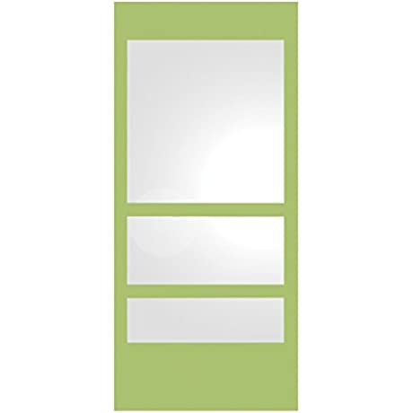 New Generation Rectangular Ecoloom Mirror With Laminated Colored Glass Border Finish Yellow