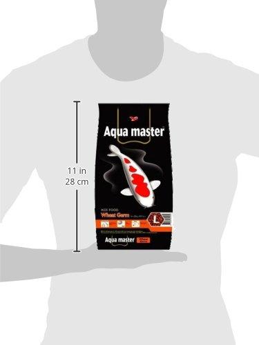 Image of Aqua Master Wheat Germ Fish Food, 2.2-Pound/Bag, Large