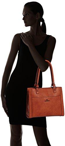Sansibar Ghibli - Bolso de mano de material sintético mujer marrón - Braun (Rust)