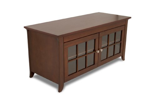 Flat Panel Credenza (TechCraft CRE48 48-Inch Wide Flat Panel TV Credenza - Walnut)