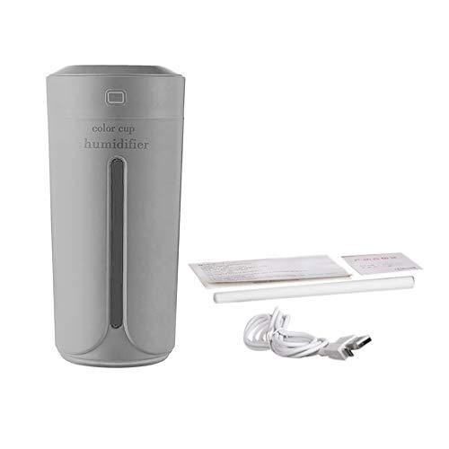 Mini Tasse Form Luftbefeuchter USB Lade Luftbefeuchter Geräuschlose Bunte Nachtlicht Nebelhersteller Für Auto Home