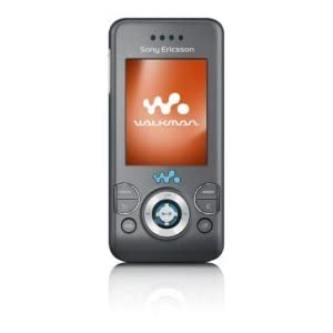 Sony Ericsson W580i Sim Free Mobile Phone - black/grey