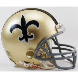 New Orleans Saints 1967 to 1975 - NFL MINI Helmet by Gridiron Football Helmets