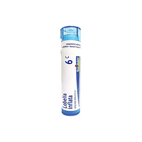 Boiron Lobelia Inflata 6C, 80 Pellets, Homeopathic Medicine for Quitting Smoking