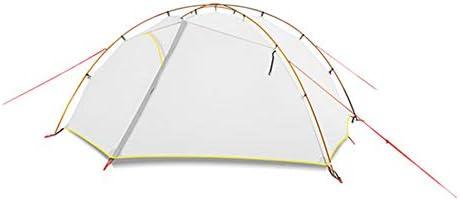 テント HCGS キャンプ テント 3/4シーズンキャンプテント15dナイロン二重層防水テント2名用