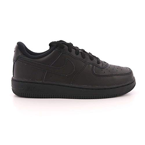 Force 009 School Air Pre NIKE 1 Black 314193 Blk Shoes PS qRPpU