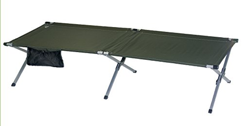 Rio Gear Military Cot (1-Piece), X-Large, Green